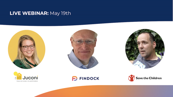 Webinar: FinDock for Fundraising with Juconi and Save the Children