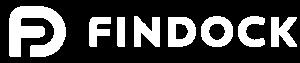FinDock logo white horizontal