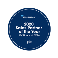 sales partner of the year award salesforce.org for findock